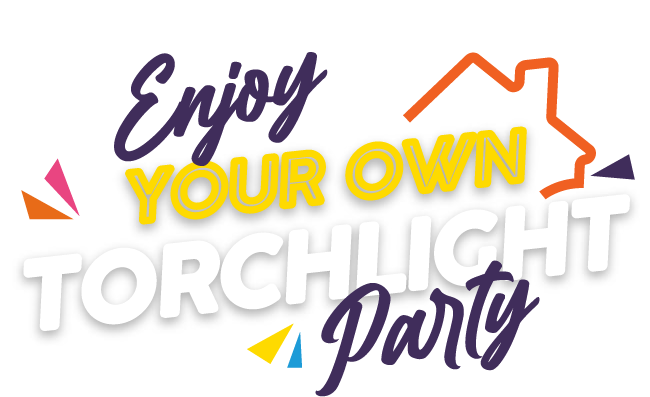 Enjoy your own torchlight party